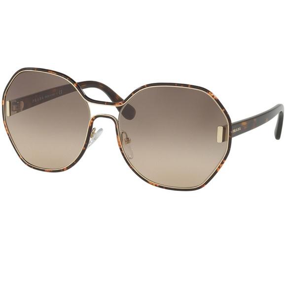 a872d31349736 Prada Sunglasses Dark Havana w Brown Gradient Lens